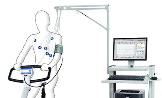 Belastungs-EKG Messplatz